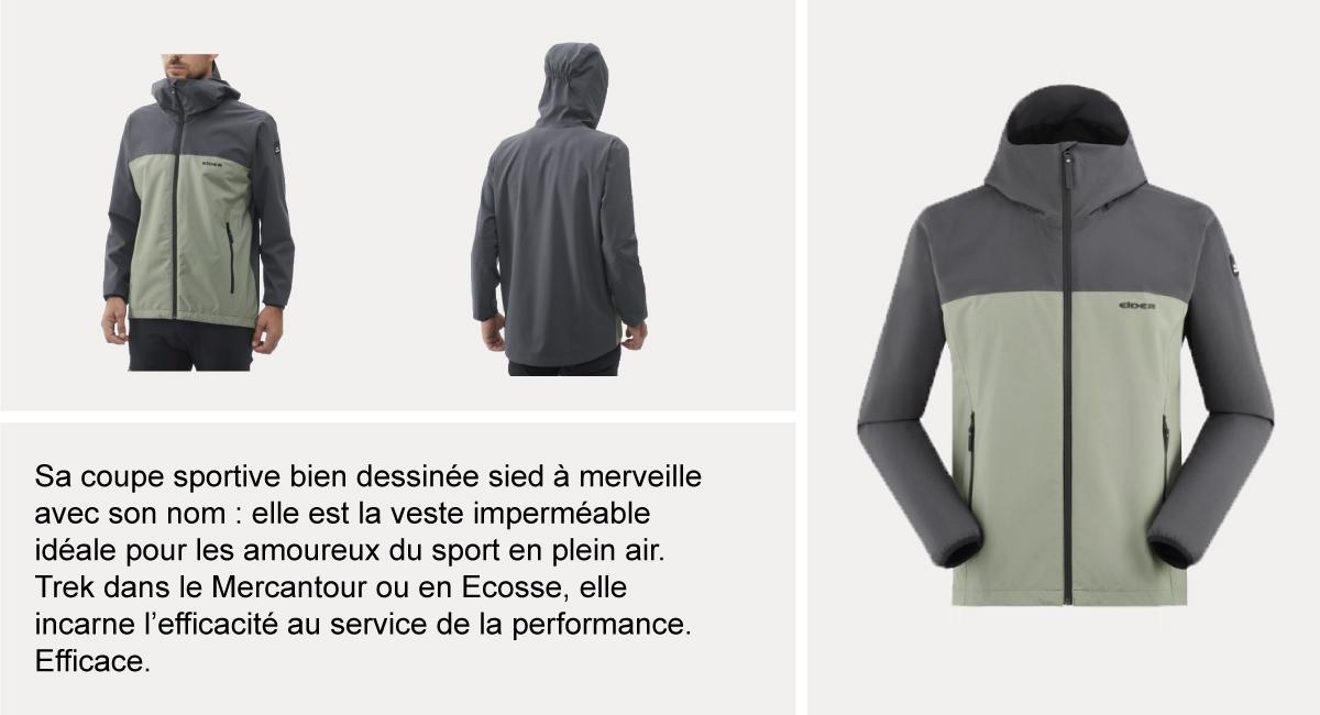 Les 10 meilleures marques de vestes de pluie et coupe vent